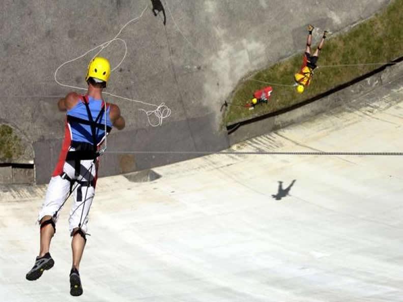 Image 1 - Rap Jump – Ein Spaziergang auf der Staumauer