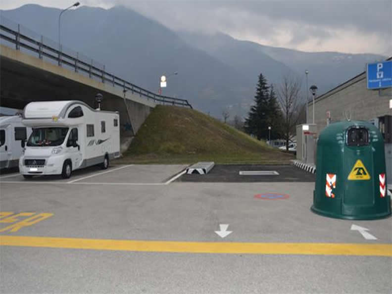 Image 1 - Parking area for campers Bellinzona
