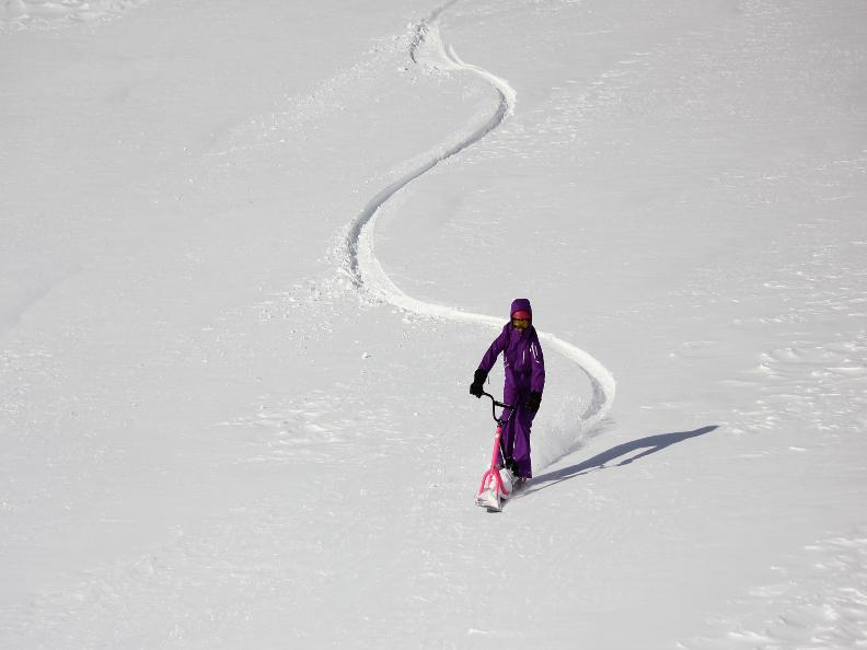 Image 1 - Snowscoot: trend sport on the snow