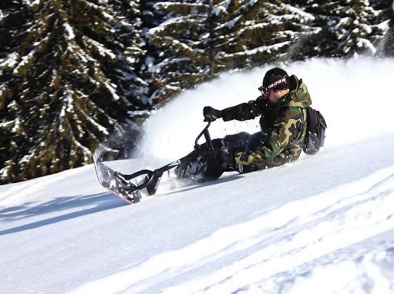 Image 5 - Snowscoot: sport di tendenza sulle nevi