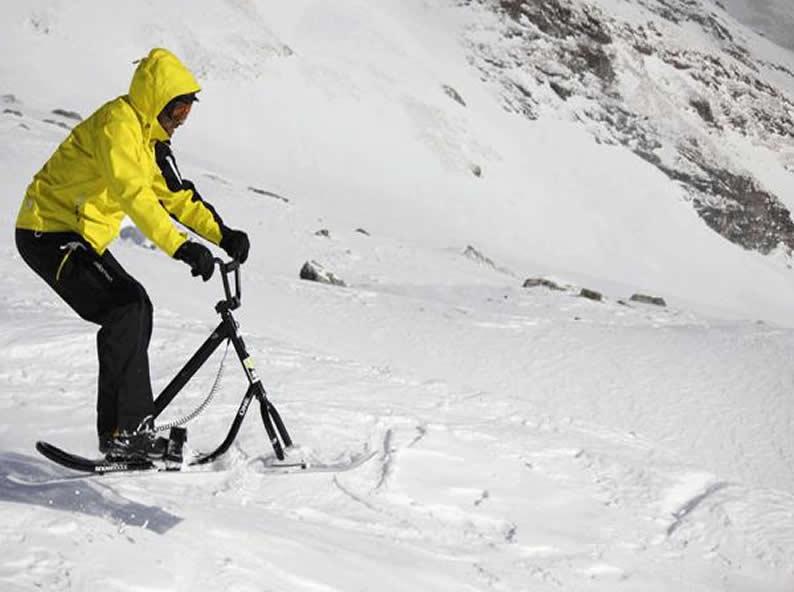 Image 2 - Snowscoot: sport di tendenza sulle nevi
