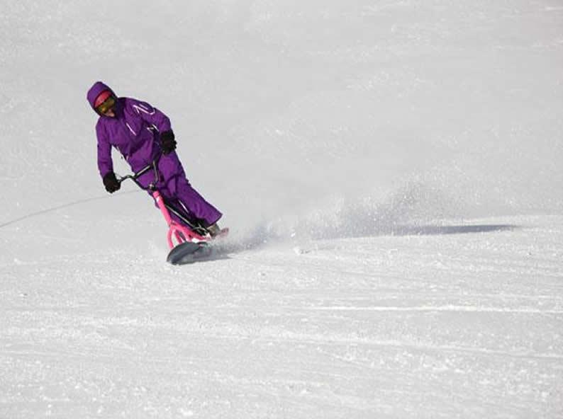 Image 4 - Snowscoot: sport di tendenza sulle nevi