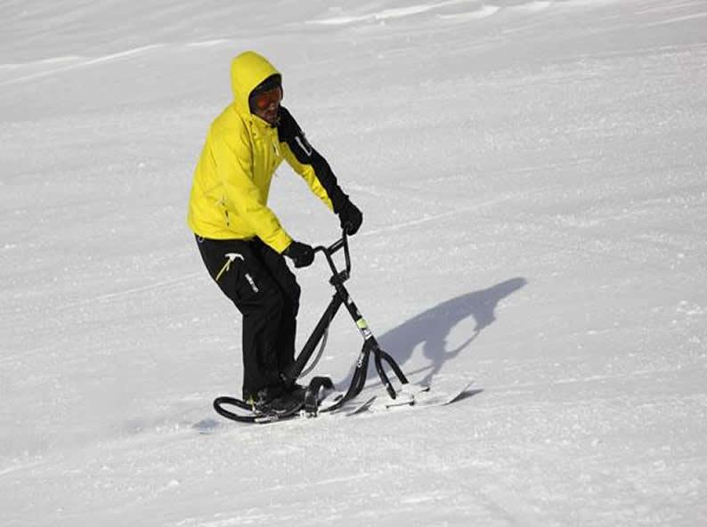 Image 3 - Snowscoot: sport di tendenza sulle nevi