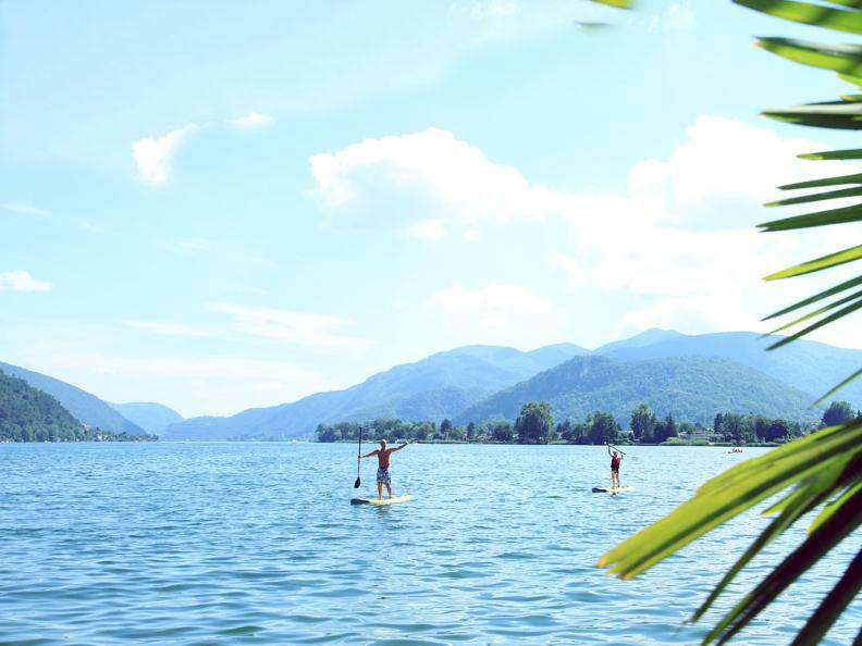 Image 5 - Stand Up Paddle Surfing in Ticino