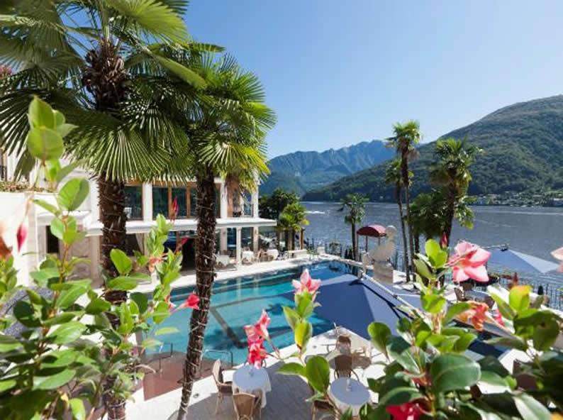 Image 0 - Swiss Diamond Hotel *****, Lugano-Vico Morcote