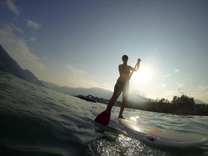 Image 1 - Stand Up Paddle Surfing in Ticino