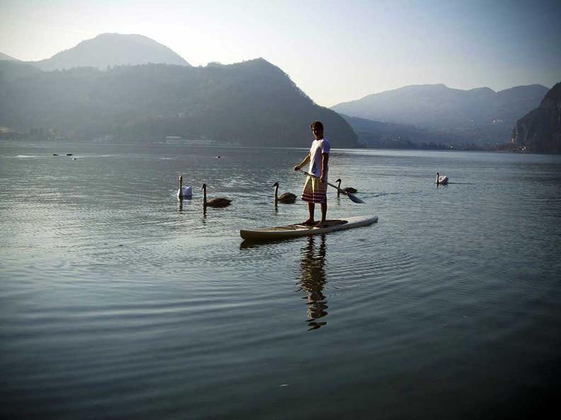 Image 0 - Stand Up Paddle Surfing in Ticino