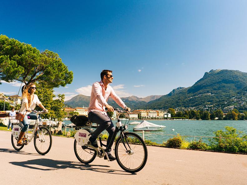 Image 1 - Publibike - Bike sharing Lugano