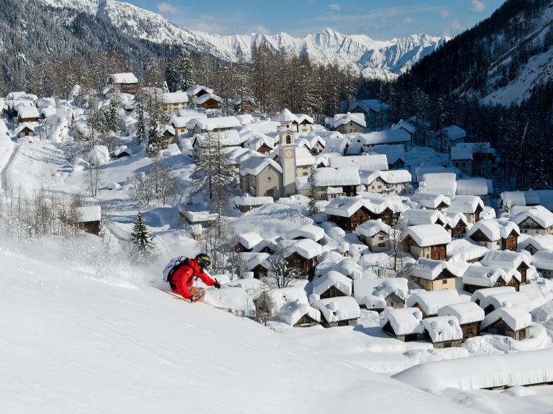 Image 0 - Skifahren im Tessin