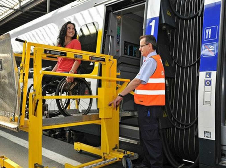 Image 0 - Travel by Train with disabilities