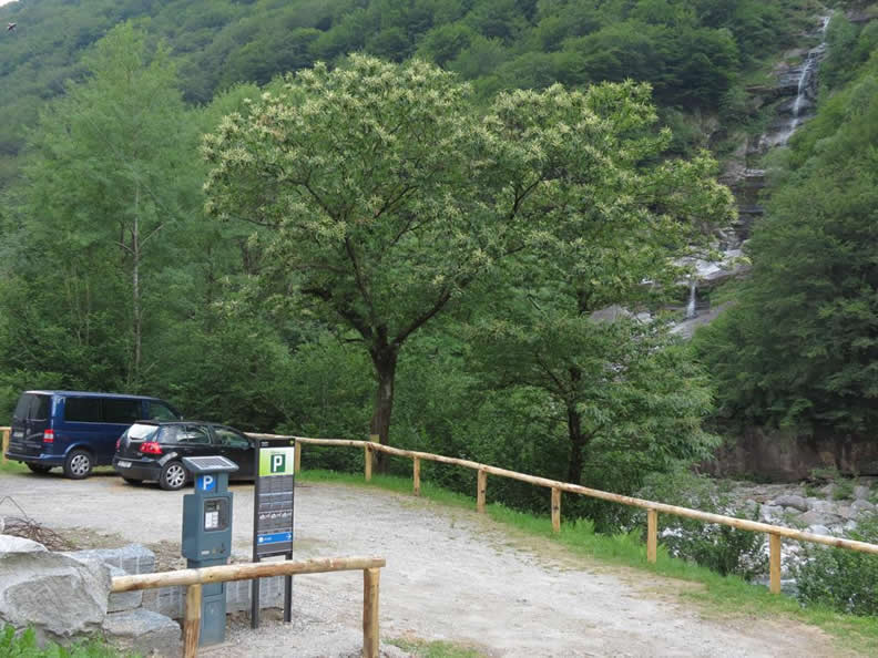 Image 2 - Verzasca Parking Card
