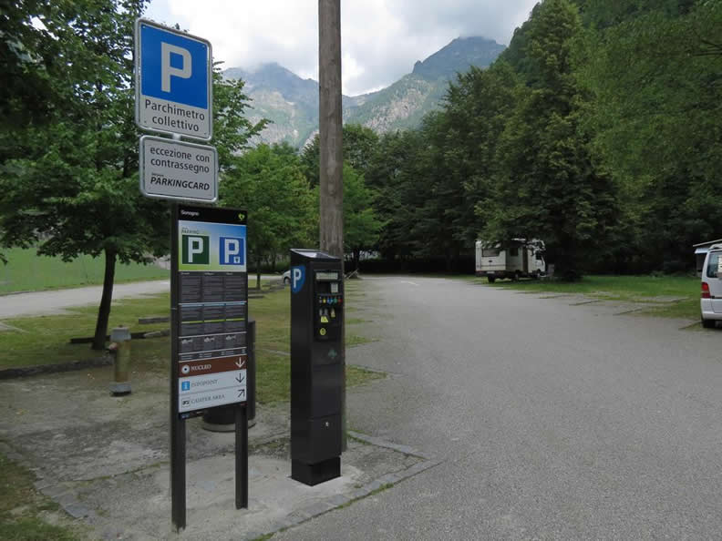 Image 0 - Verzasca Parking Card