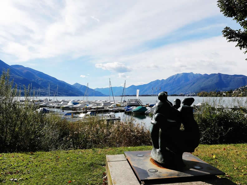 Image 1 - Gardens on the lakefront Locarno - Muralto
