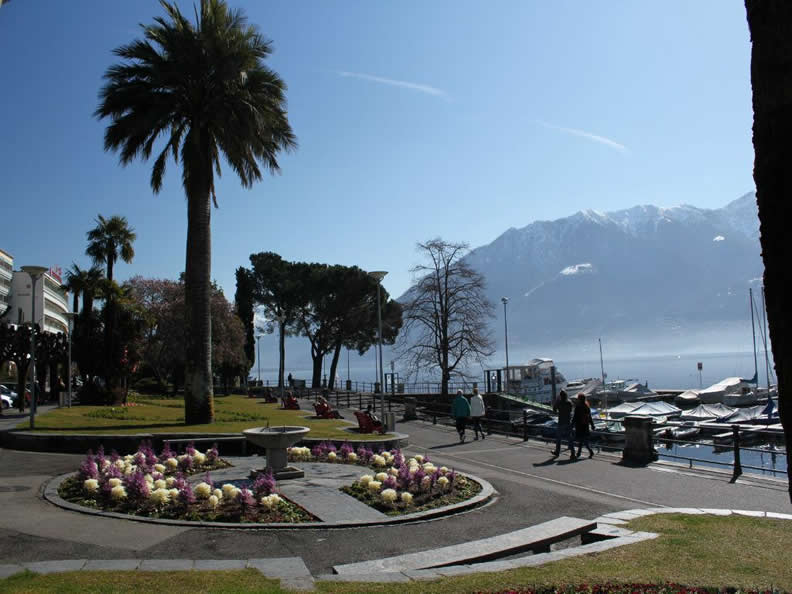 Image 4 - Gardens on the lakefront Locarno - Muralto