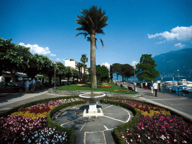 Image 0 - Gardens on the lakefront Locarno - Muralto