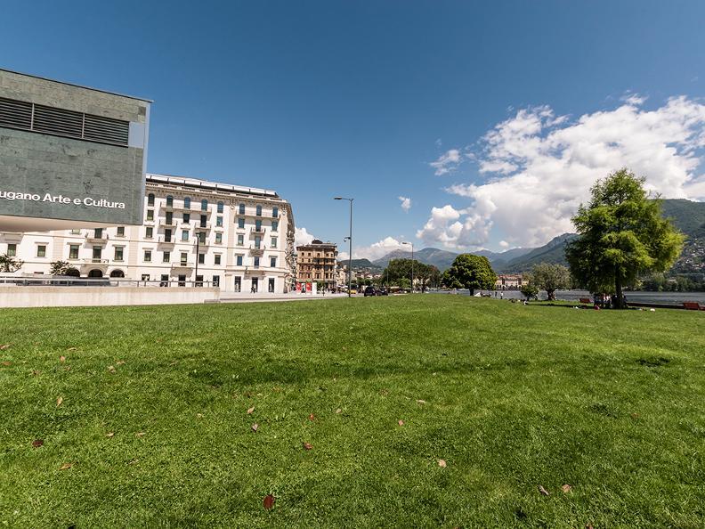 Image 0 - Belvedere garden and lakeshore promenade in Lugano