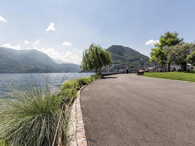Image 2 - Belvedere garden and lakeshore promenade in Lugano