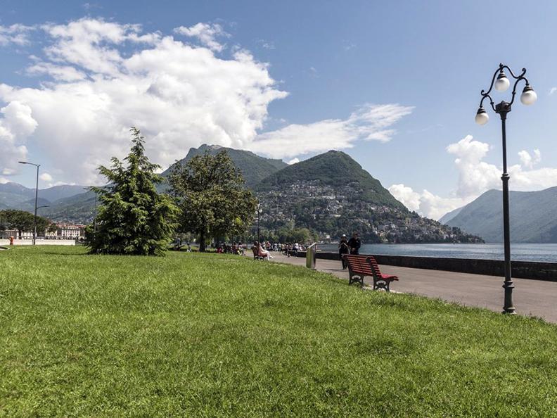 Image 3 - Belvedere garden and lakeshore promenade in Lugano