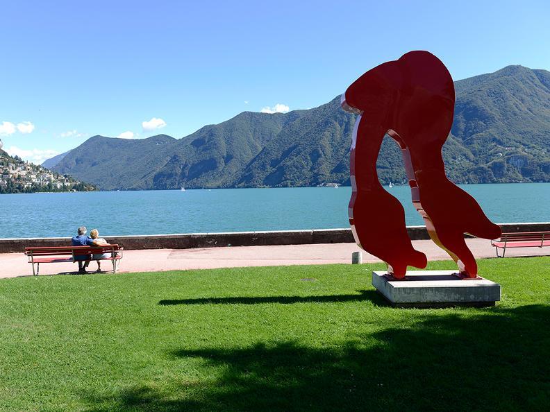 Image 0 - Der Belvedere-Garten in Lugano