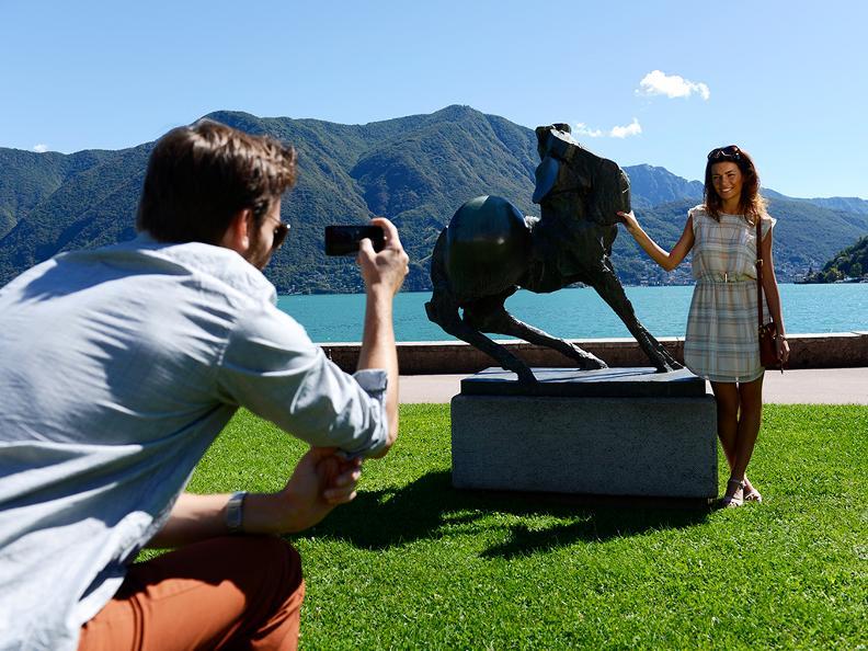 Image 1 - Belvedere garden and lakeshore promenade in Lugano