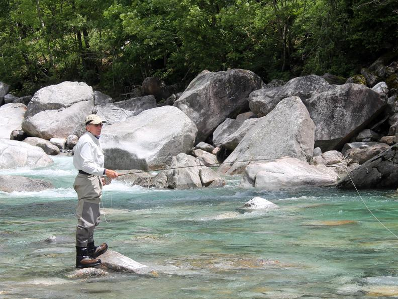 Image 2 - Guided fishing trip: Maggia – Verzasca