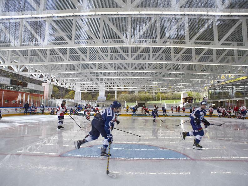 Image 3 - Covered ice rink in Faido