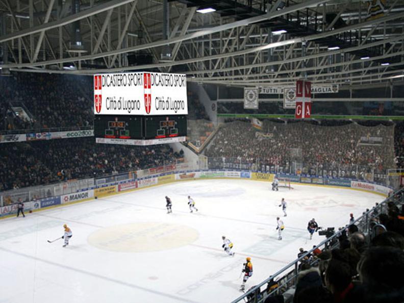 Image 2 - Cornèr Arena - Pista Ghiaccio Resega