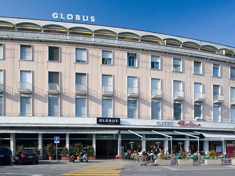Willkommen im globus locarno tessin tourismus for Design hotel tessin
