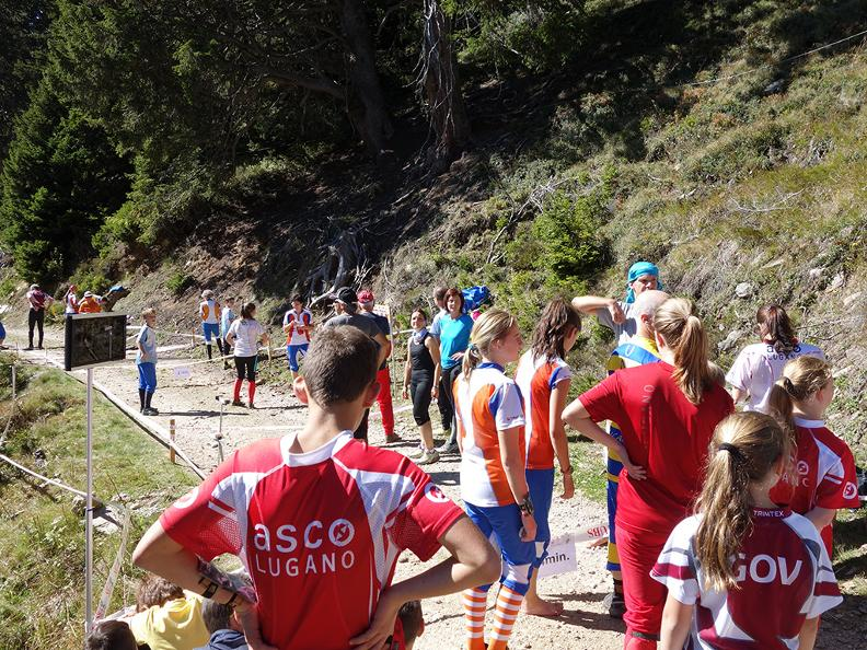 Image 1 - Orienteering course – fixed trails in Faido