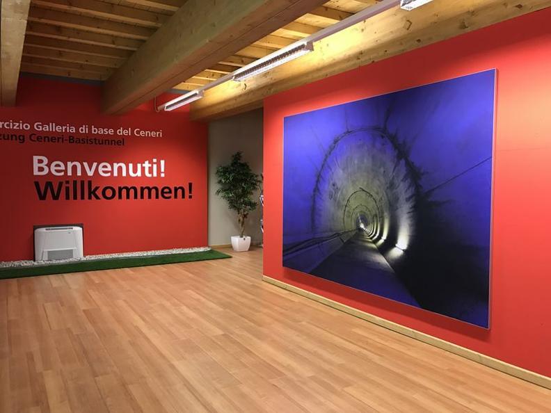 Image 0 - L'esposizione all'Infopoint di Sigirino è stata rinnovata