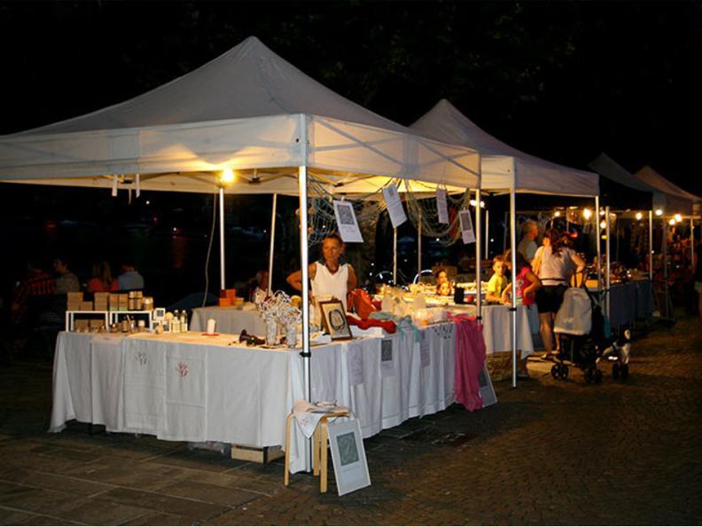 Image 0 - The evening market of Ascona