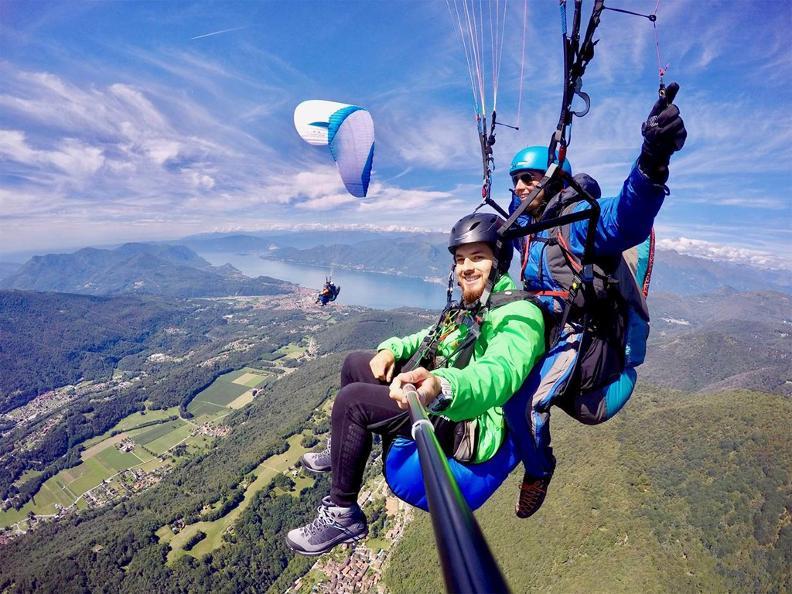 Image 4 - FlyTicino – Paragliding tandem flights in Ticino
