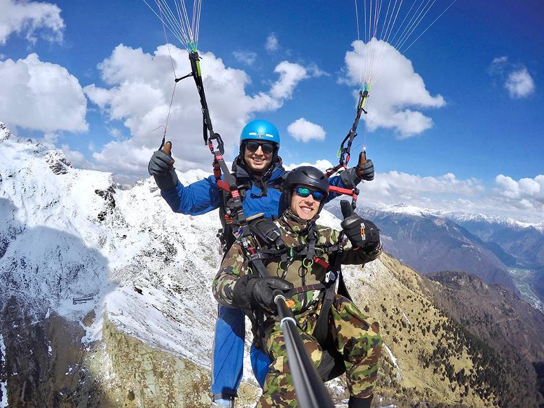 Image 3 - FlyTicino – Paragliding tandem flights in Ticino