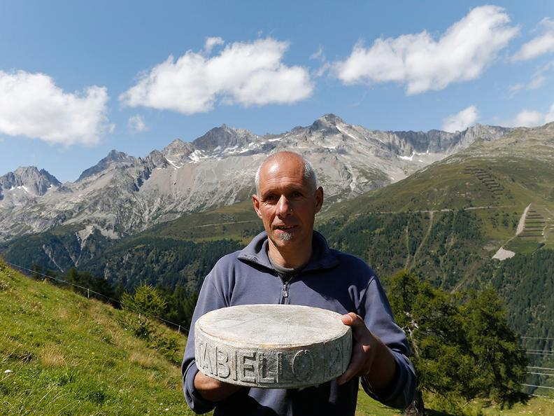Image 2 - The AOP alpine cheese