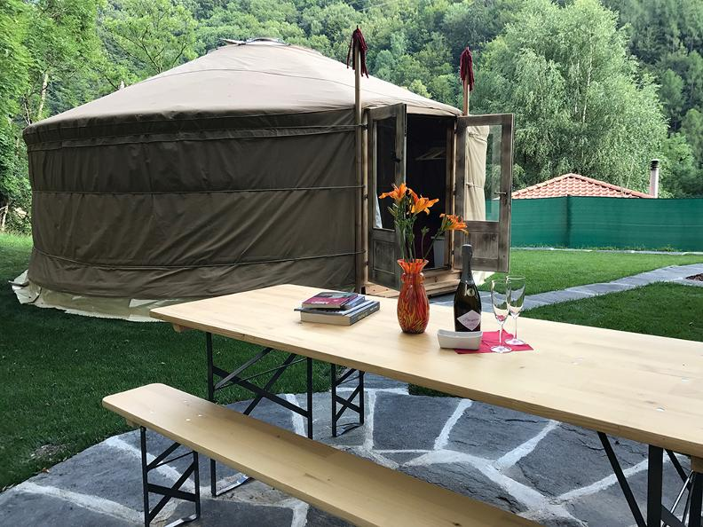 Image 0 - Eco Yurta Lugano-Valcolla