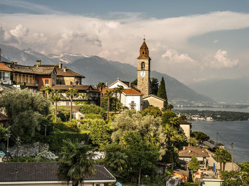 Image 0 - Guided walk through Ronco s/Ascona