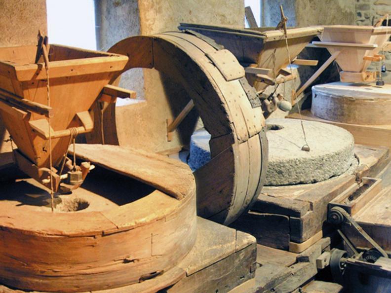 Image 4 - Ghitello's mill in Breggia Gorge Park
