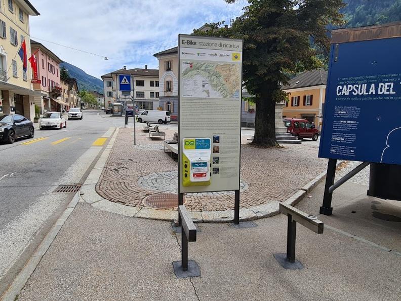 Image 0 - E-bike charging point Faido - Piazza Stefano Franscini