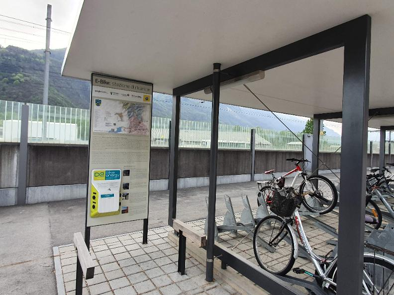 Image 0 - E-bike charging point Arbedo-Castione - SBB Bahnhof