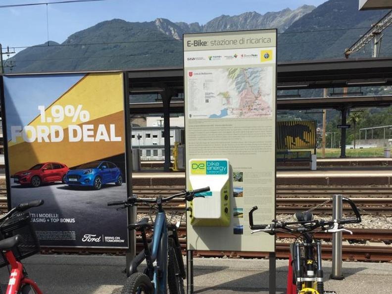 Image 0 - E-bike charging point Giubiasco - Stazione FFS