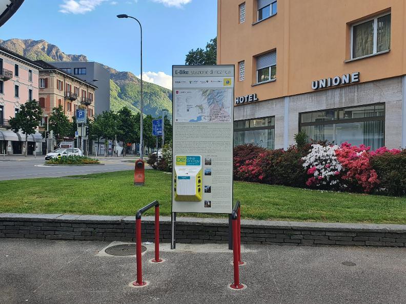 Image 0 - E-bike charging point Bellinzona - Centre