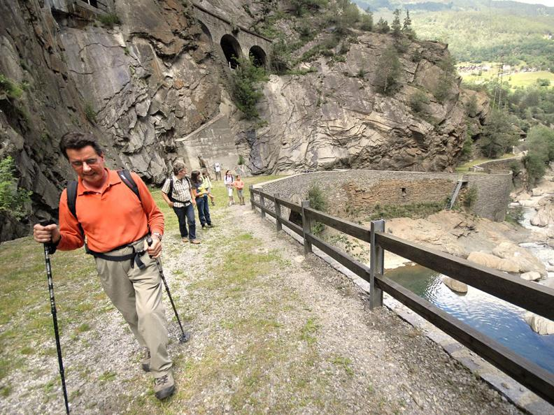 Image 3 - Hiking holidays: Via Gottardo, Airolo - Bellinzona