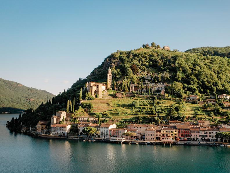 Image 0 - Morcote: a picturesque point of land with lakeside romance, history and local gastronomy
