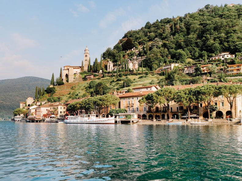 Image 1 - Morcote: a picturesque point of land with lakeside romance, history and local gastronomy