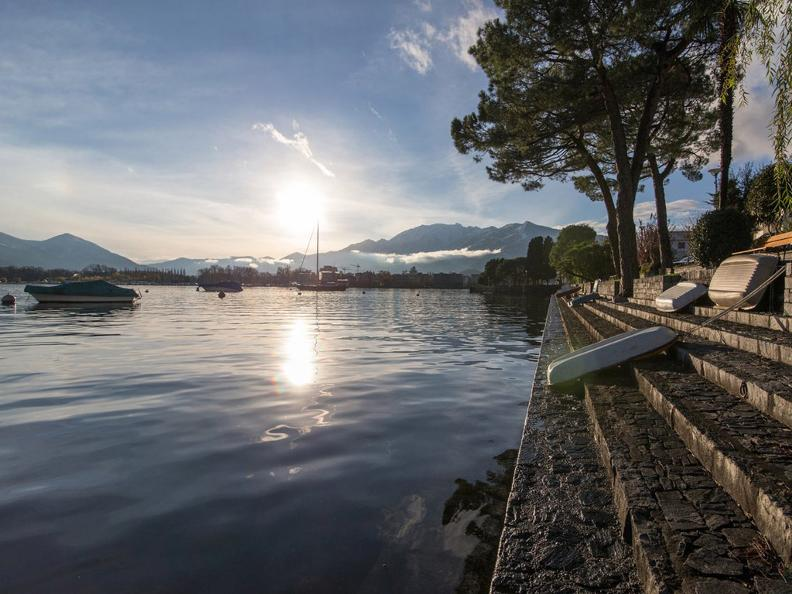 Image 2 - Winter hike along the lake from Tenero to Ascona