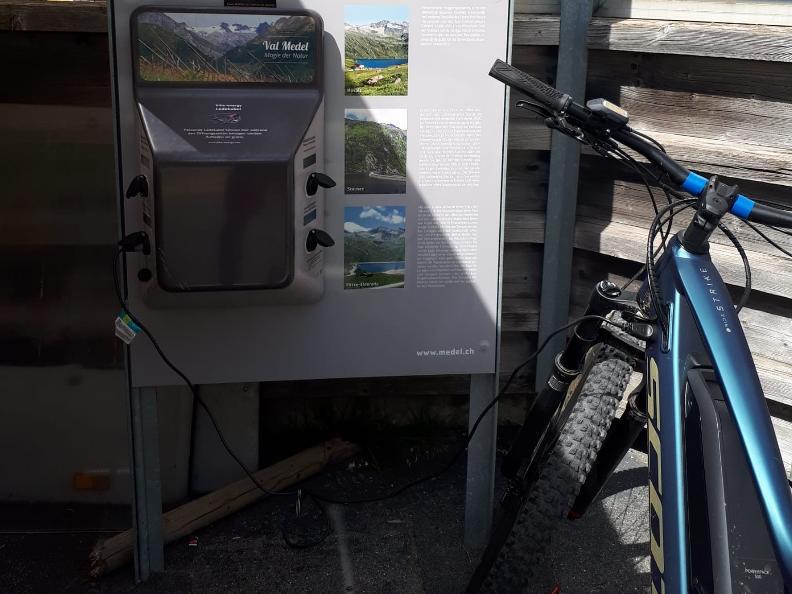Image 0 - E-bike charging point - Ospizio S. Maria, Lucomagno