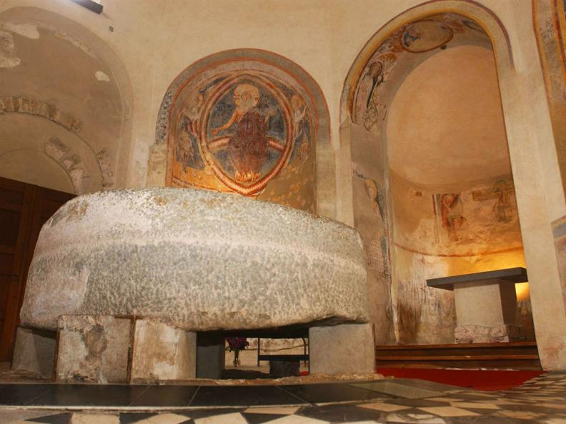 Image 0 - Baptistery of Riva San Vitale