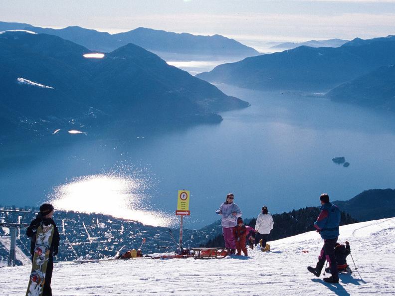 Image 3 - Skiing in Cardada-Cimetta
