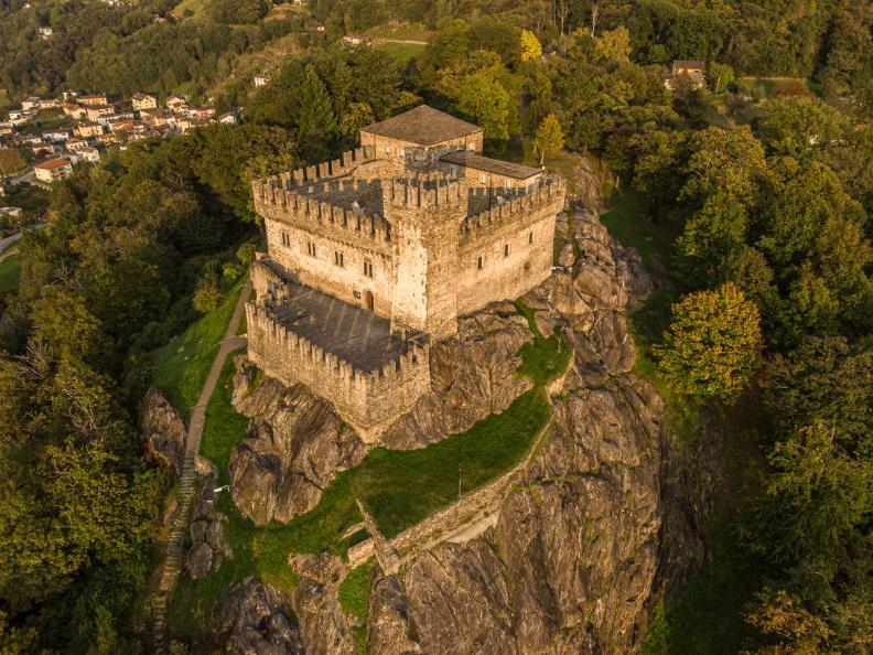 Image 0 - The Castle of Sasso Corbaro