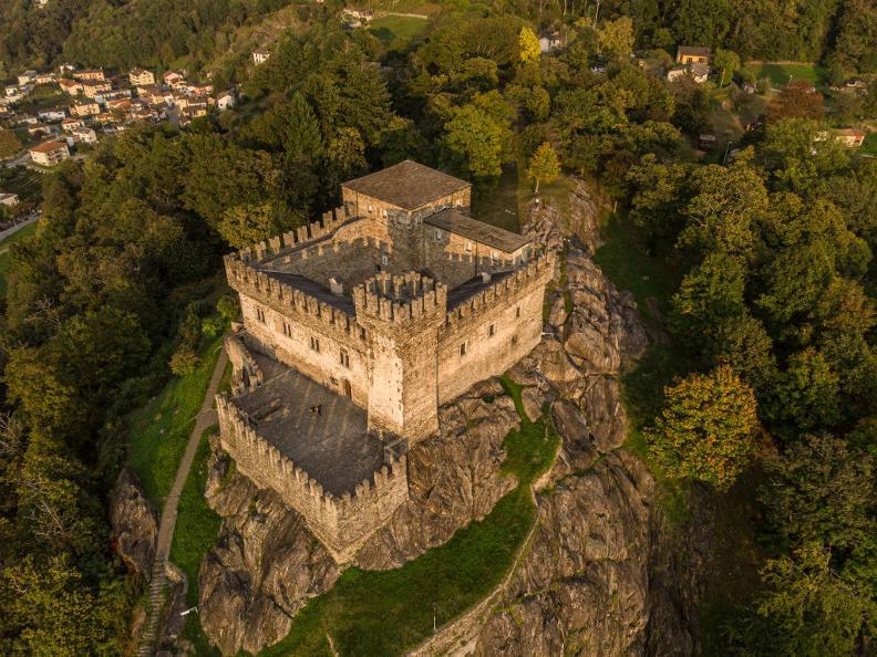 Image 2 - Burg Sasso Corbaro